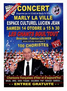 Marly la ville concert ccsa 14 oct 2017